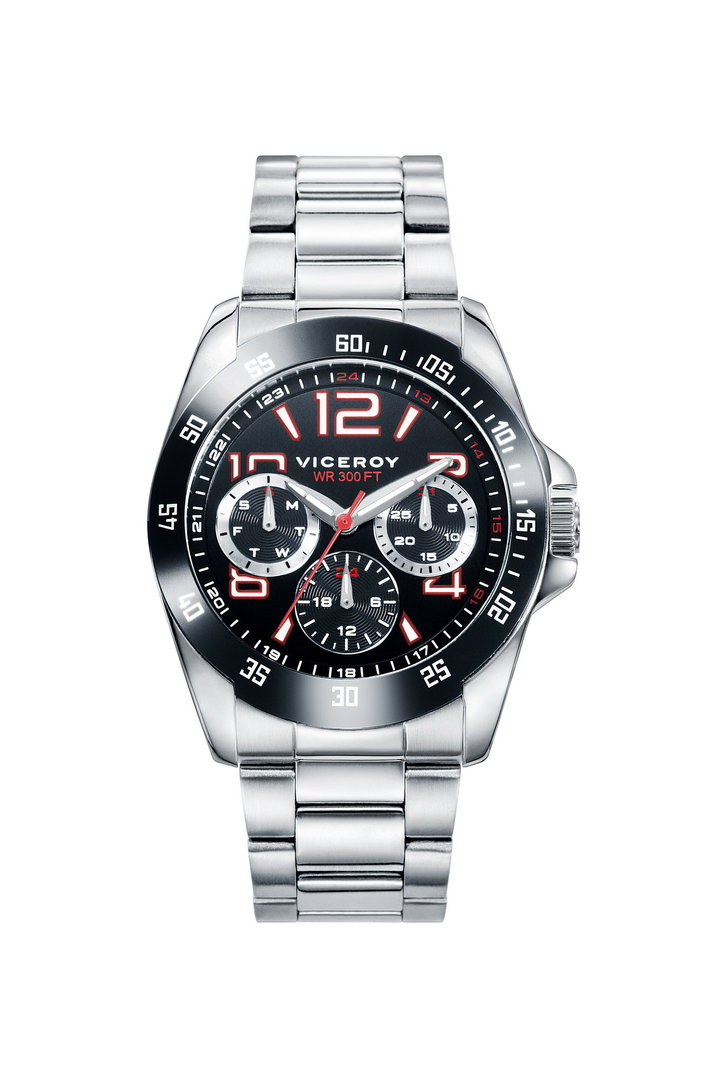 Multifunction Steel Watch Next