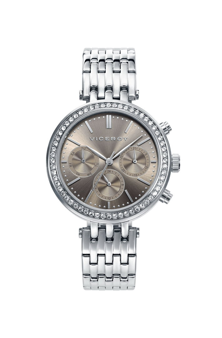 Chic Watch Zirconia Bezel