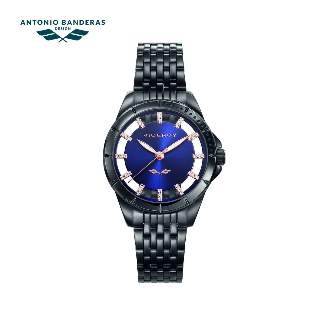 Antonio Banderas Blue Dial Watch