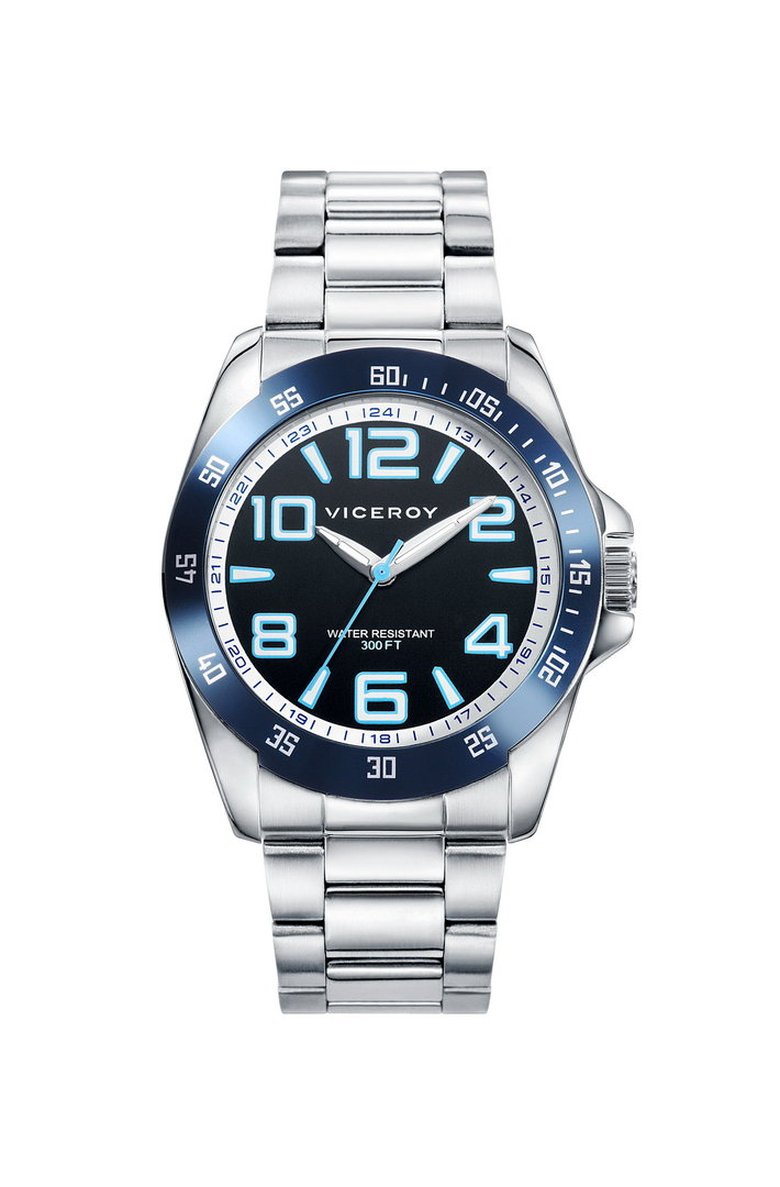 Next Blue Dial Watch