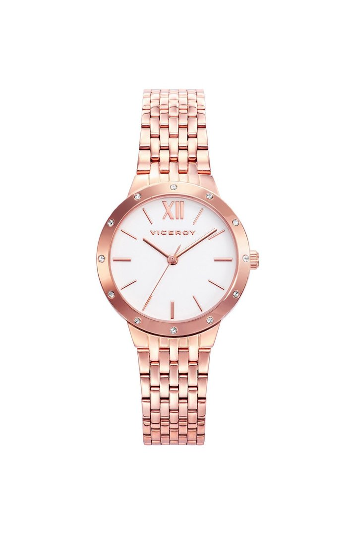 Pink IP Steel Watch