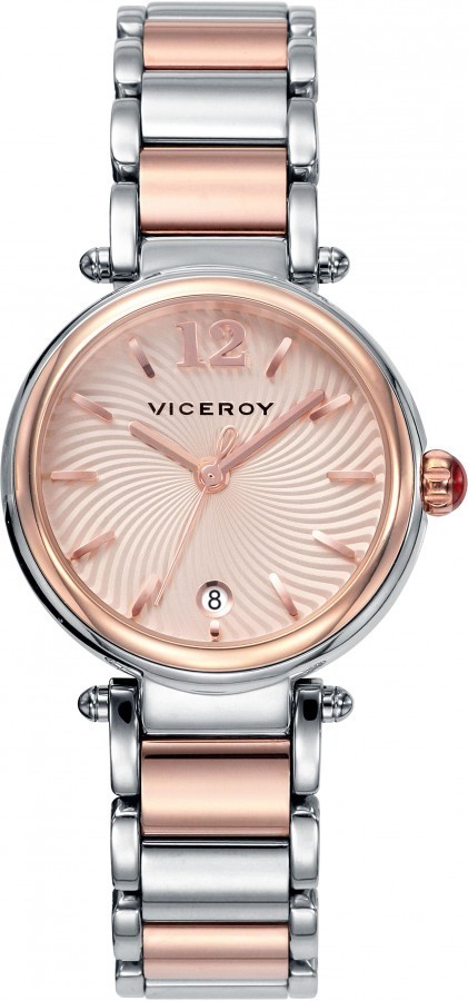 Bicolor Steel IP Pink Watch