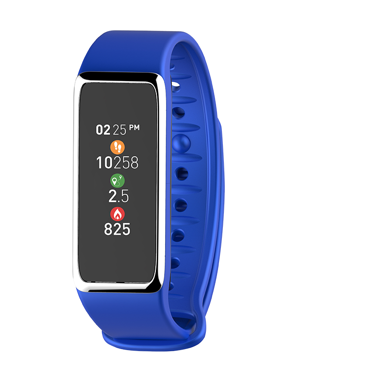 ZeFit 3HR Blue Activity Tracking