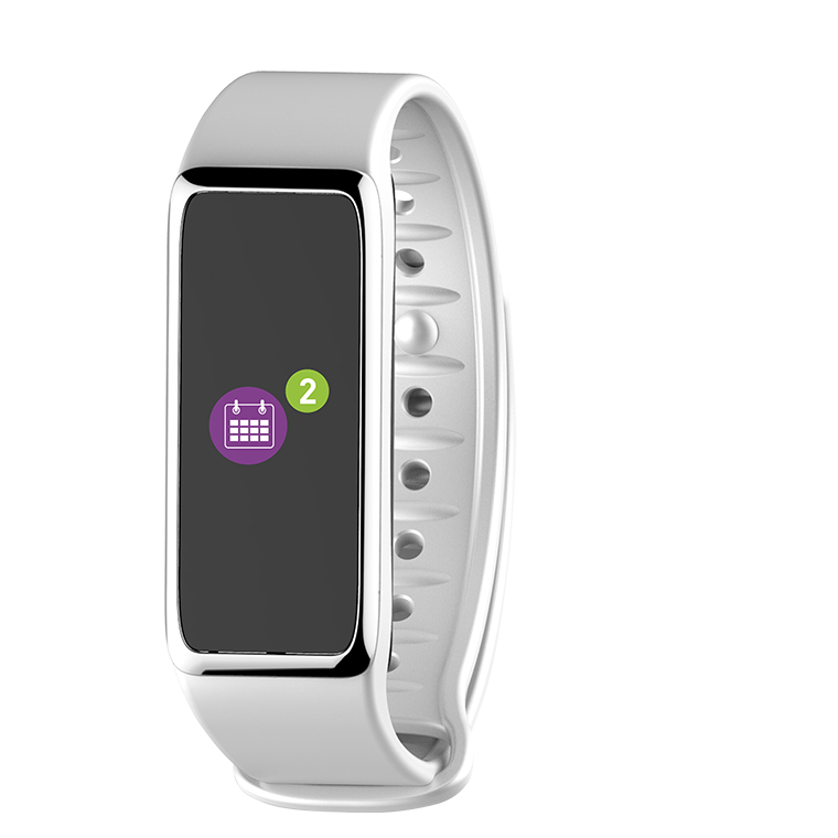 ZeFit 3HR White Activity Tracking