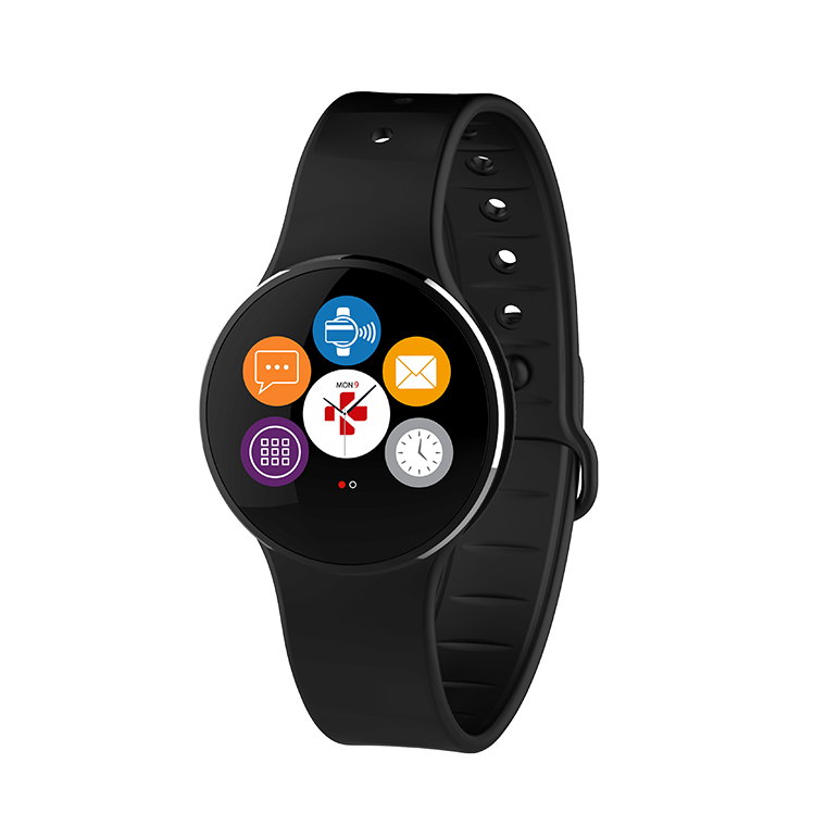 ZeCircle 2 Black Activity Tracker with contactless payment