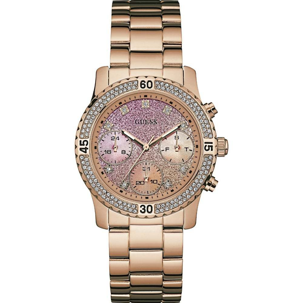Pink IP Confetti Lady Watch