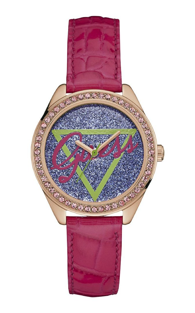 Lady leather Little Flirt Pink Watch
