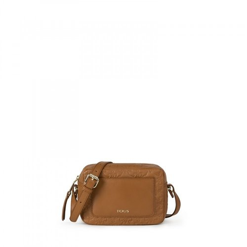 Mossaic medium leather shoulder bag in leather