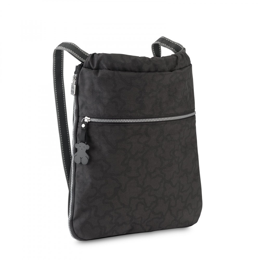 Kaos New Backpack Color in anthracite - black