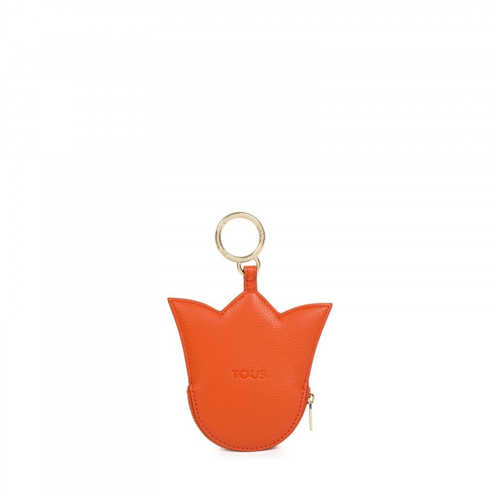 Dorp tulip purse in orange color