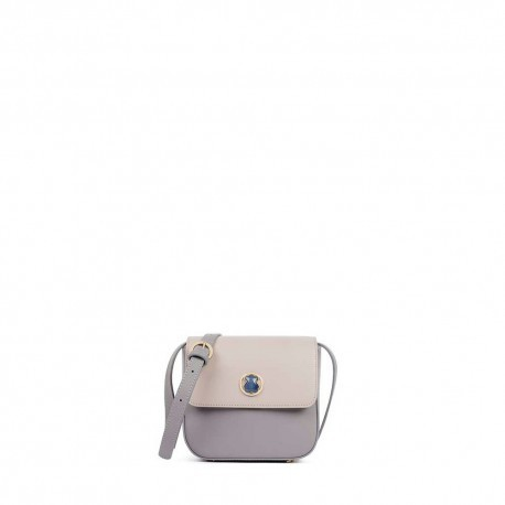 Rene Camille small shoulder bag in lilac-mauve color