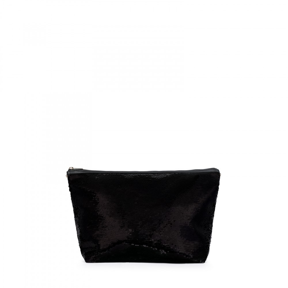 Small bag Kaos Shock Sequins black