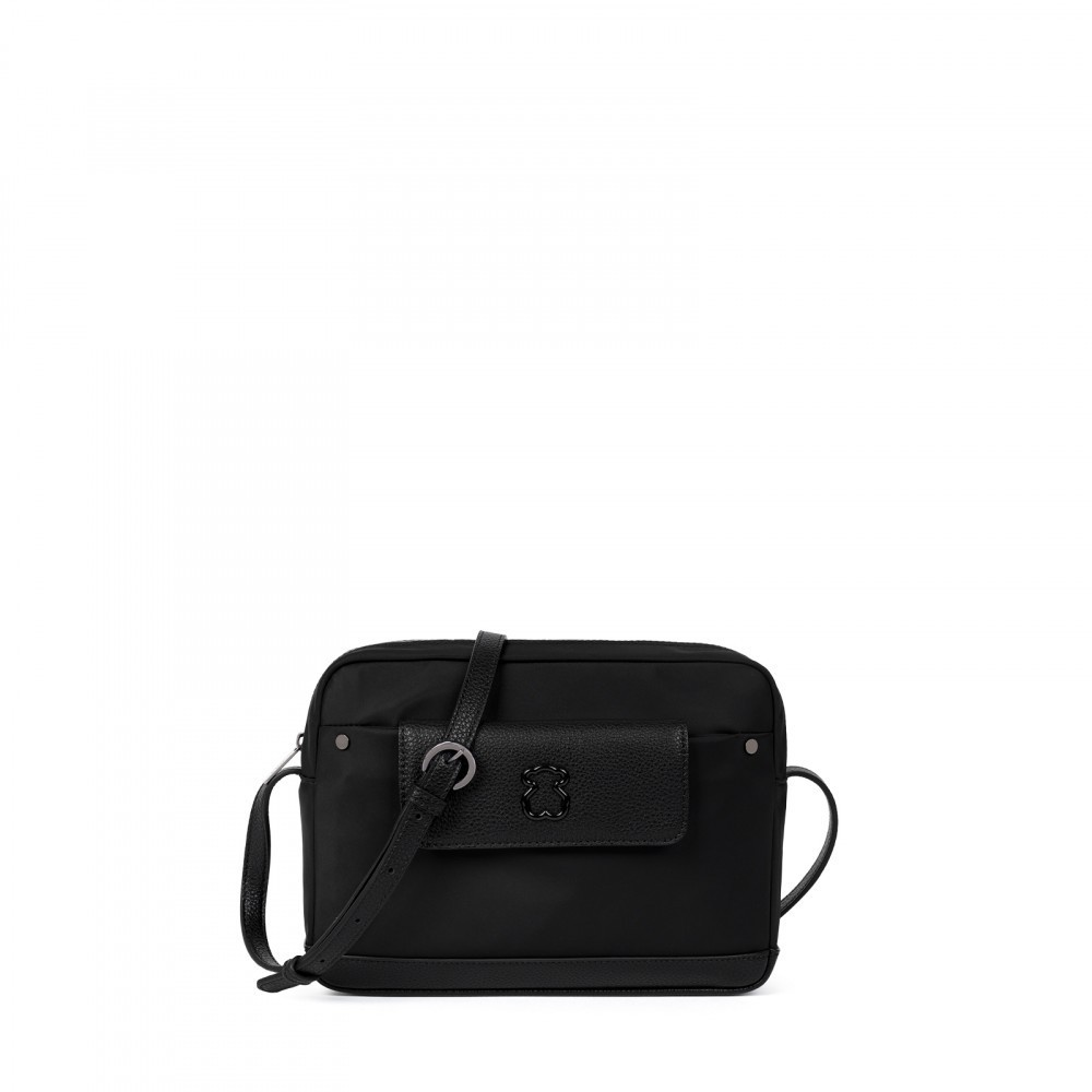 Laina shoulder bag Black canvas