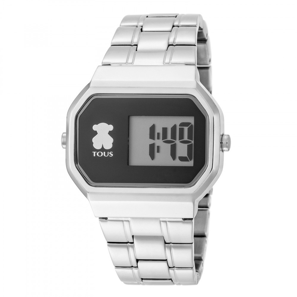 Reloj D-Bear Digital acero