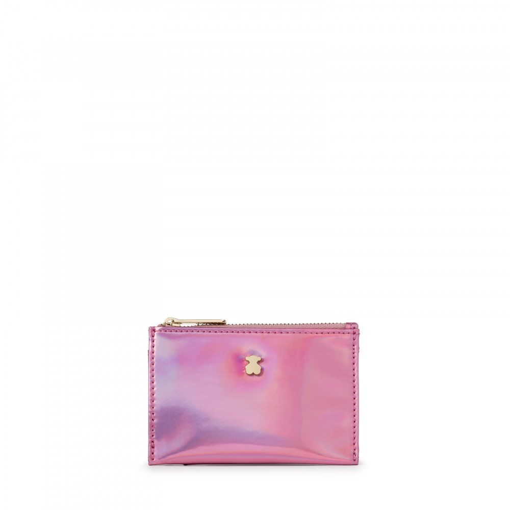 Monedero Dorp en color rosa