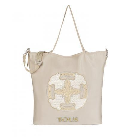 Shopping Jodie Mossaic en color beige