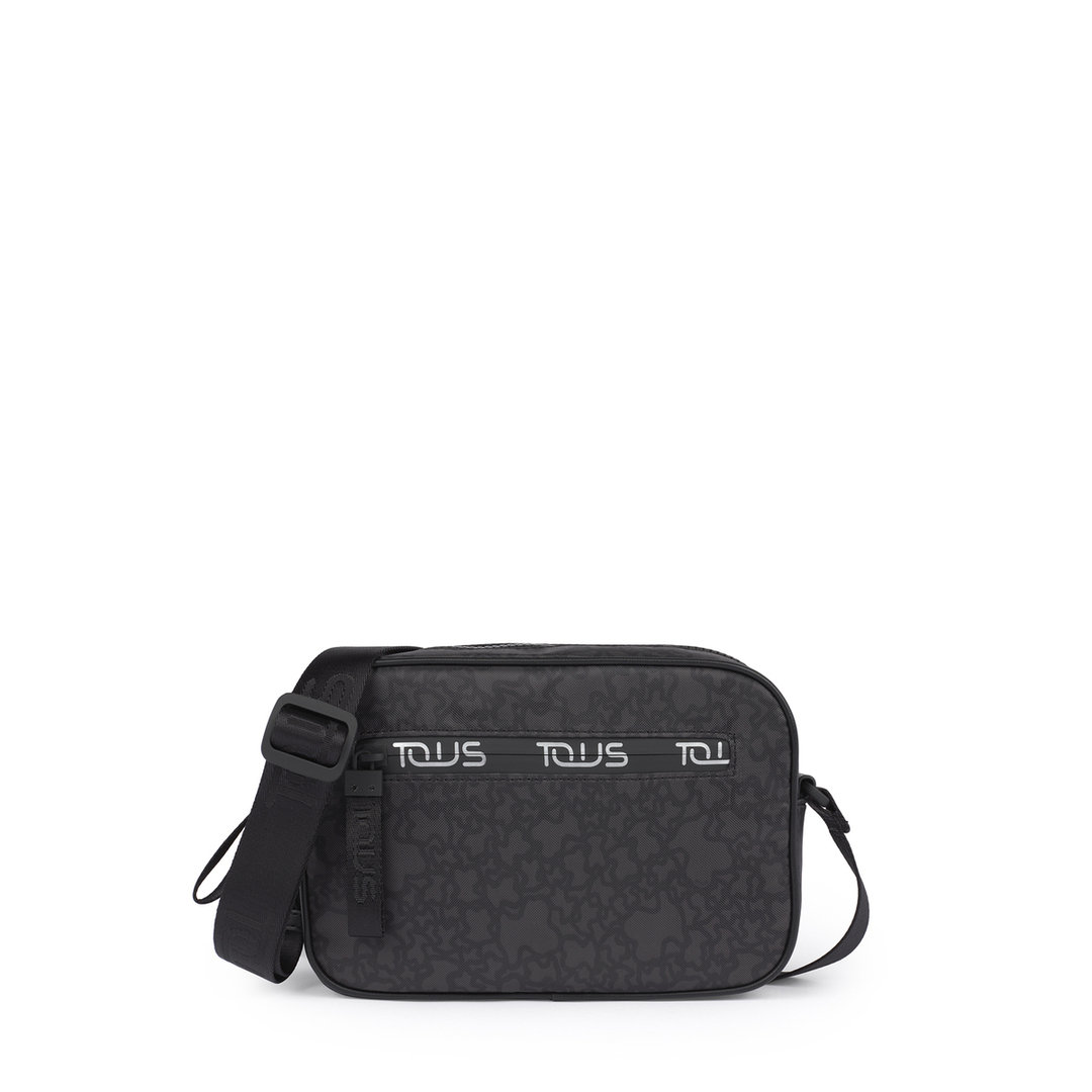Small black-gray Kaos Mini Sport Crossbody